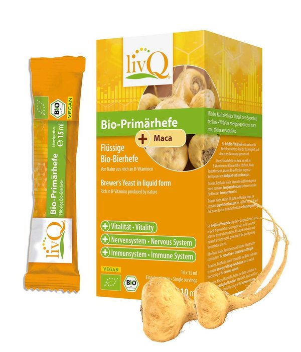 Bio-Primärhefe Maca 14x15ml